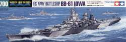 Tamiya 1/700 US Navy Battleship BB-61 Iowa