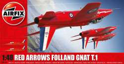 Airfix 1/48 Red Arrows Folland Gnat T.1